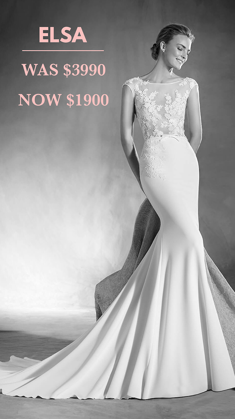 Brisbane wedding dress sample sale