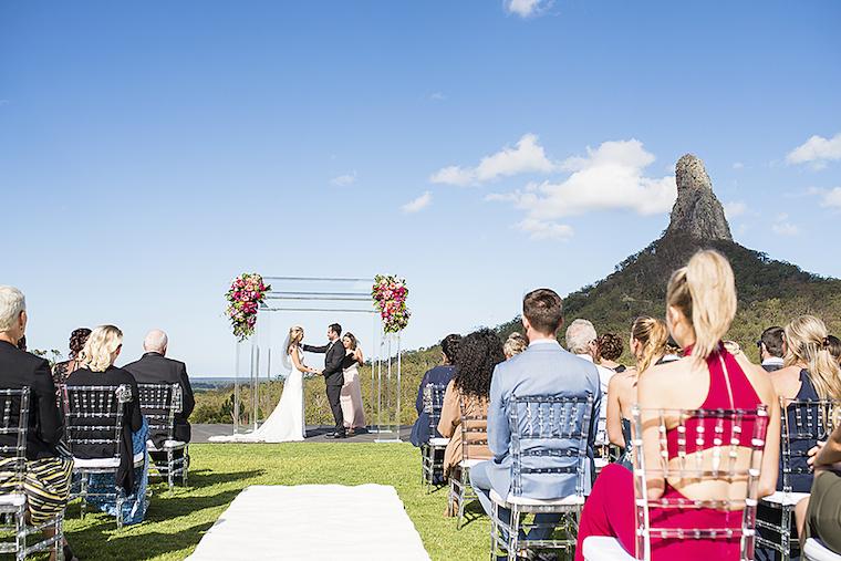Glass house mountains wedding _ Private property wedding _ Matt Rowe Photography_ The Bride's Tree _ Splash Events