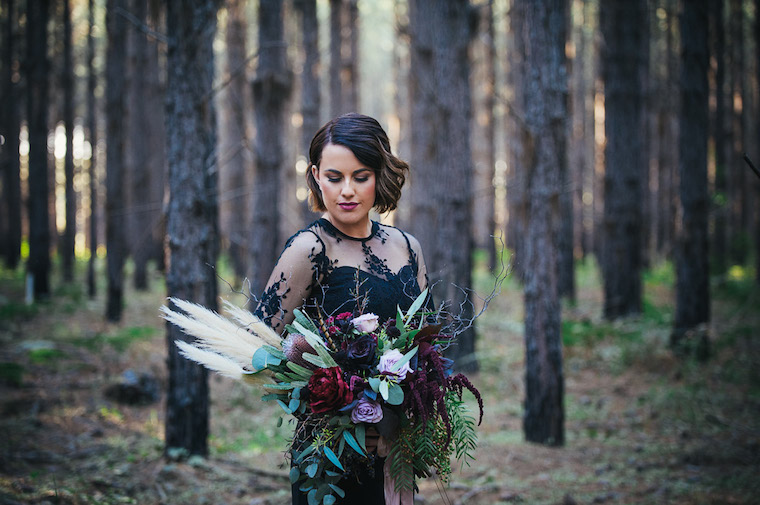 Forrest wedding style _ Styled shoot sunshine coast wedding _ The Bride's Tree