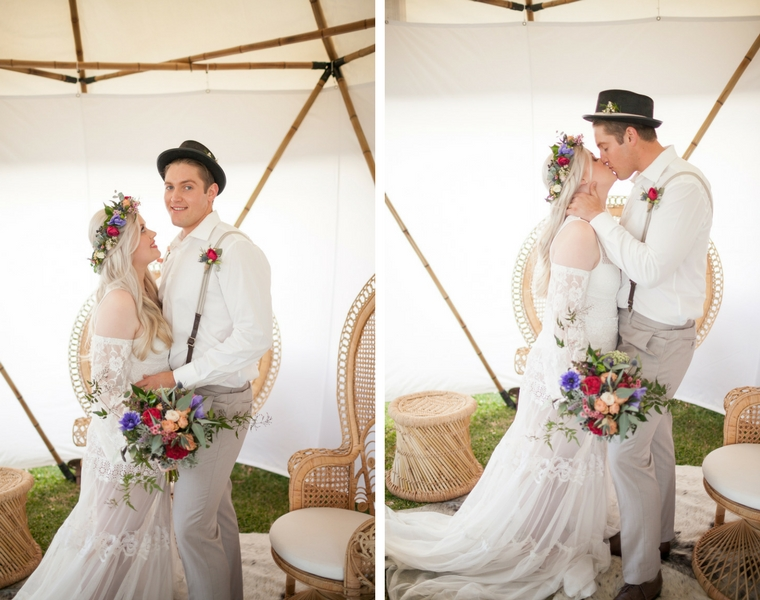 Boho wedding _ yurt Maleny _ The Bride's Tree