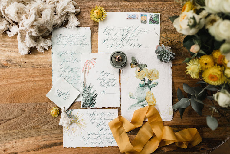 Logwoods Cacti Farm Wedding styled shoot by Shae Estella Photo. Sunshine Coast Wedding Photographer.