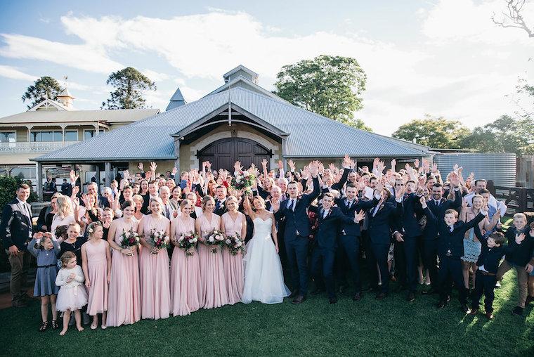 Flaxton wedding venue _ Garden wedding Sunshine Coast _ garden wedding ceremony _ Bre & Alex