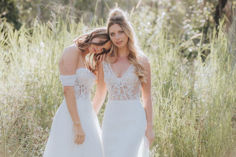 Boho bridal fashion _ WhiteLily_ Brisbane bridal boutique _ wedding dresses Brisbane _ The Bride's Tree _ Bridal fashion