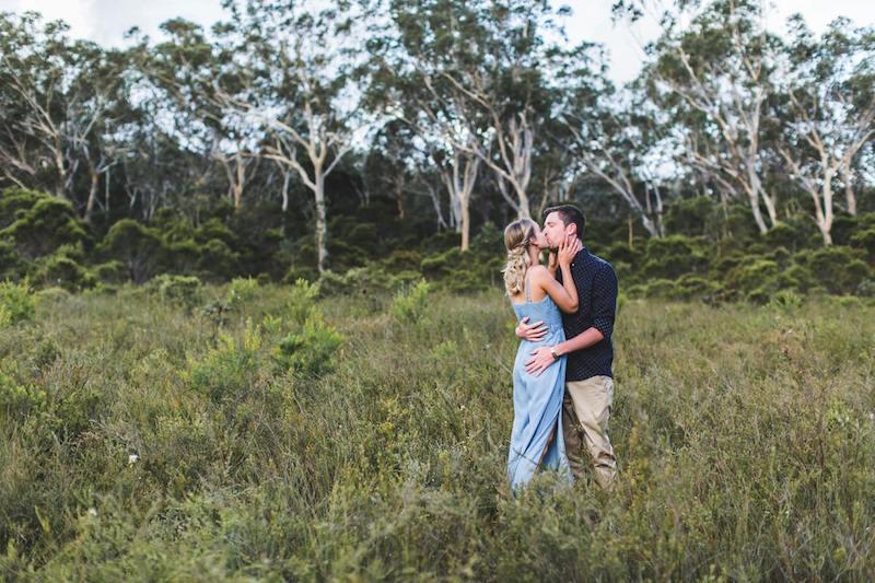 Australian Bush Engagement Shoot _ Adriana Watson _ The Bride's Tree