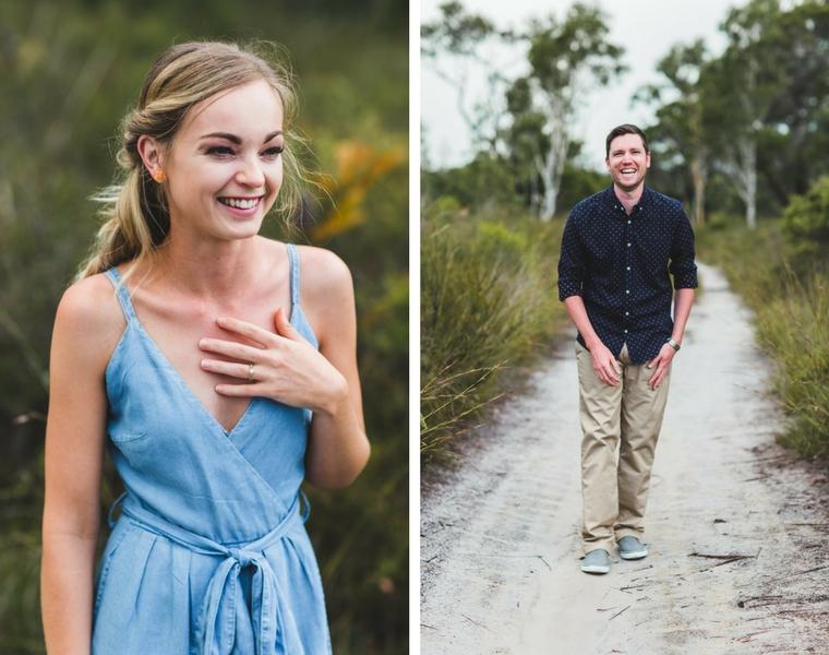 Australian Bush Engagement Shoot _ Adriana Watson _ The Bride's Tree1