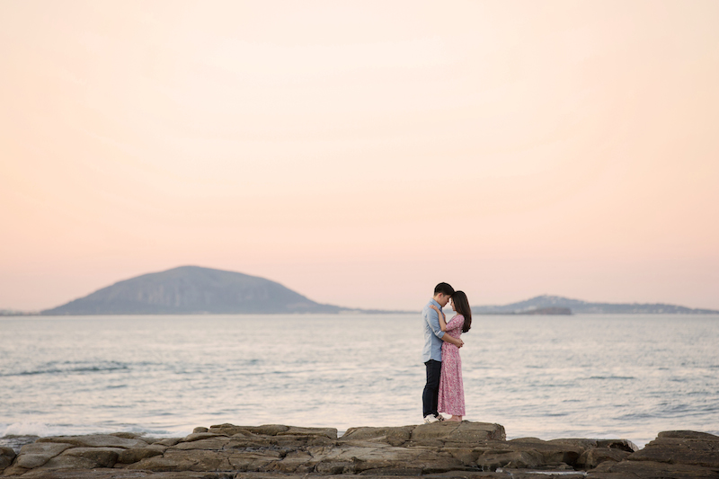 Pt Cartwright Engagement Shoot _ Jennifer Oliphant Photographer