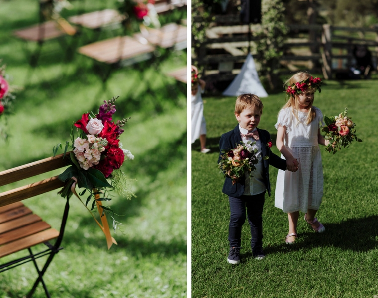 Country style wedding _ Figtree wedding ceremony _ The Bride's Tree
