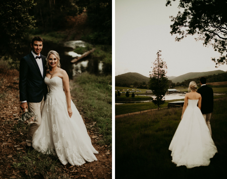 Yabbaloumba Retreat wedding _ The Bride's Tree _ Kristy-Lee bride