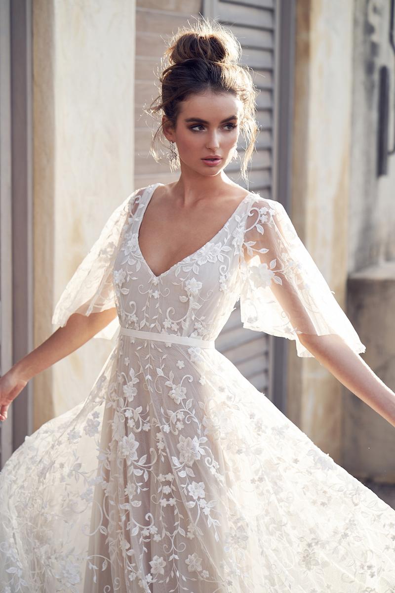 Amelie Dress (Draped Sleeve)-4