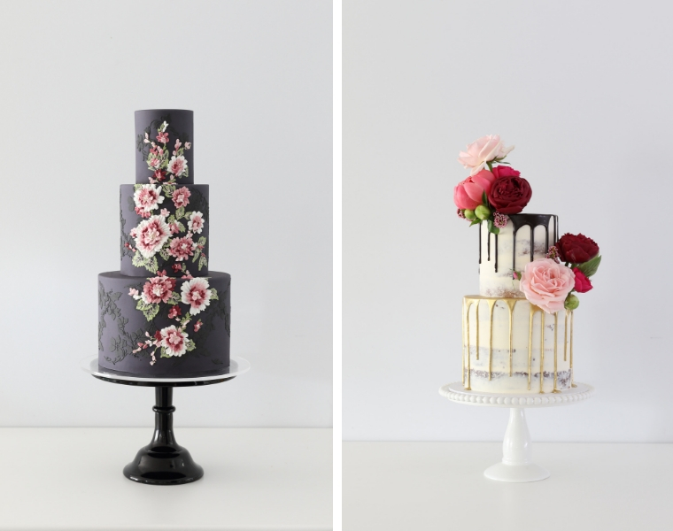 Wedding cakes Sunshine Coast _ Zoe Clark Cakes _ The Bride's Tree A-list Vendor Profile