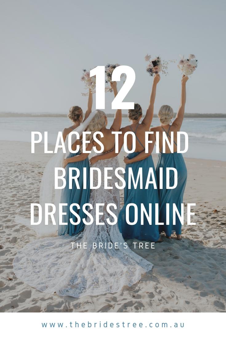 find bridesmaid dresses online
