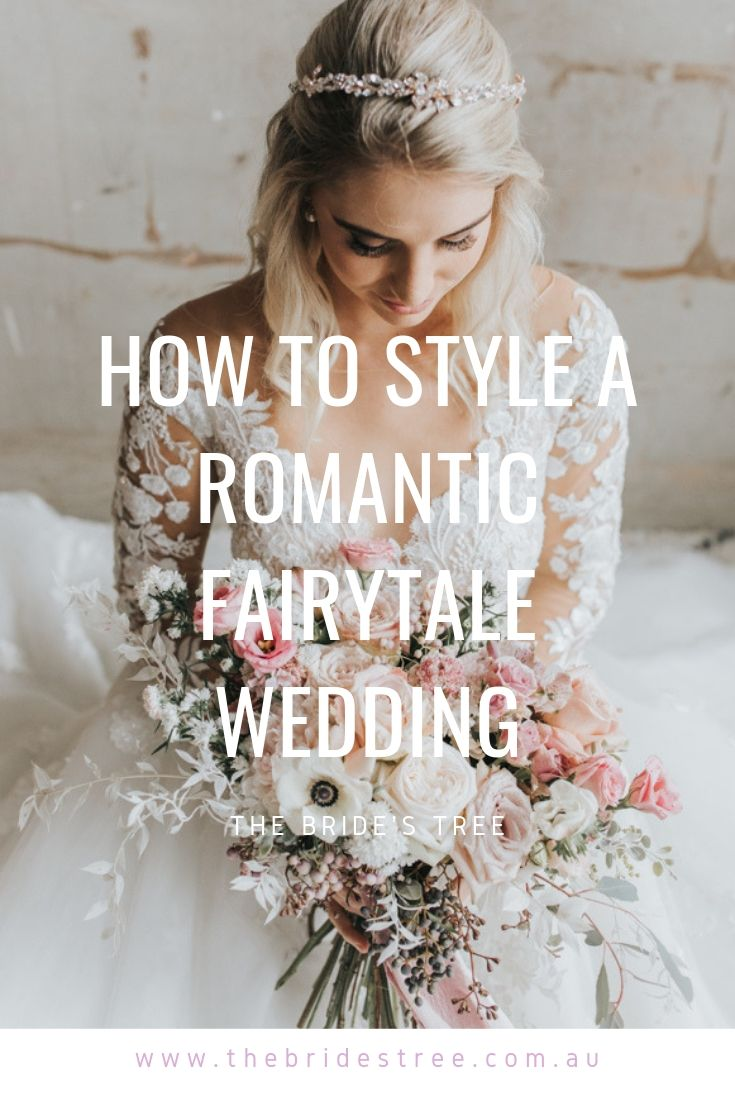 how to style a romantic wedding