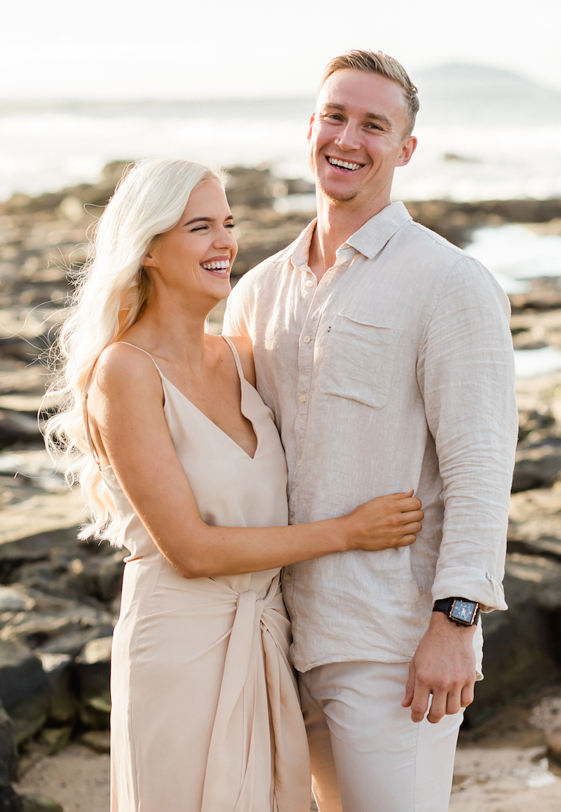 Mooloolaba Engagment Shoot _  Beach engagement shoot _ Forever In This Moment Photography _ TheBride's Tree