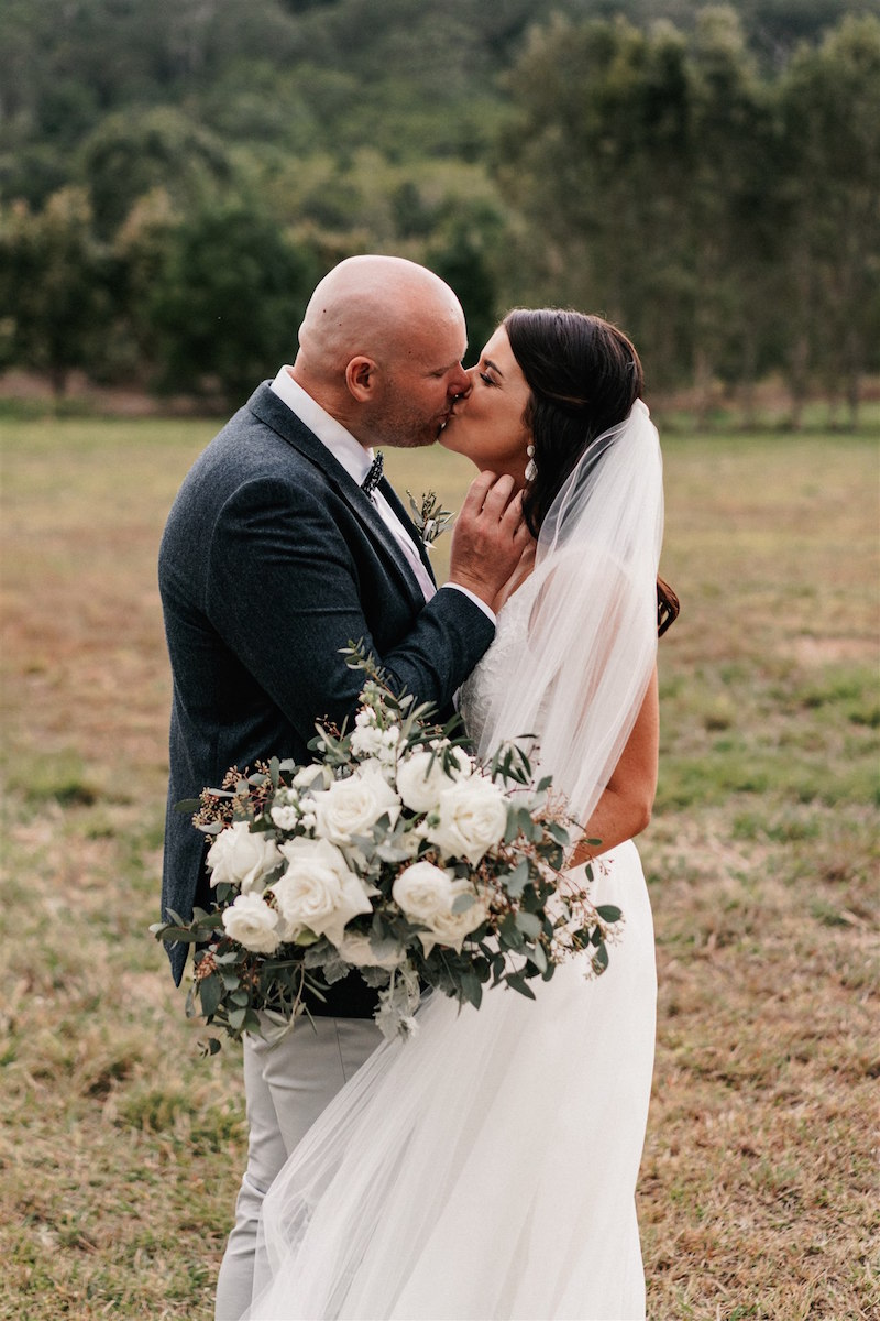 Larissa + Anthony_ The Rocks Yandina wedding _ Yandina wedding