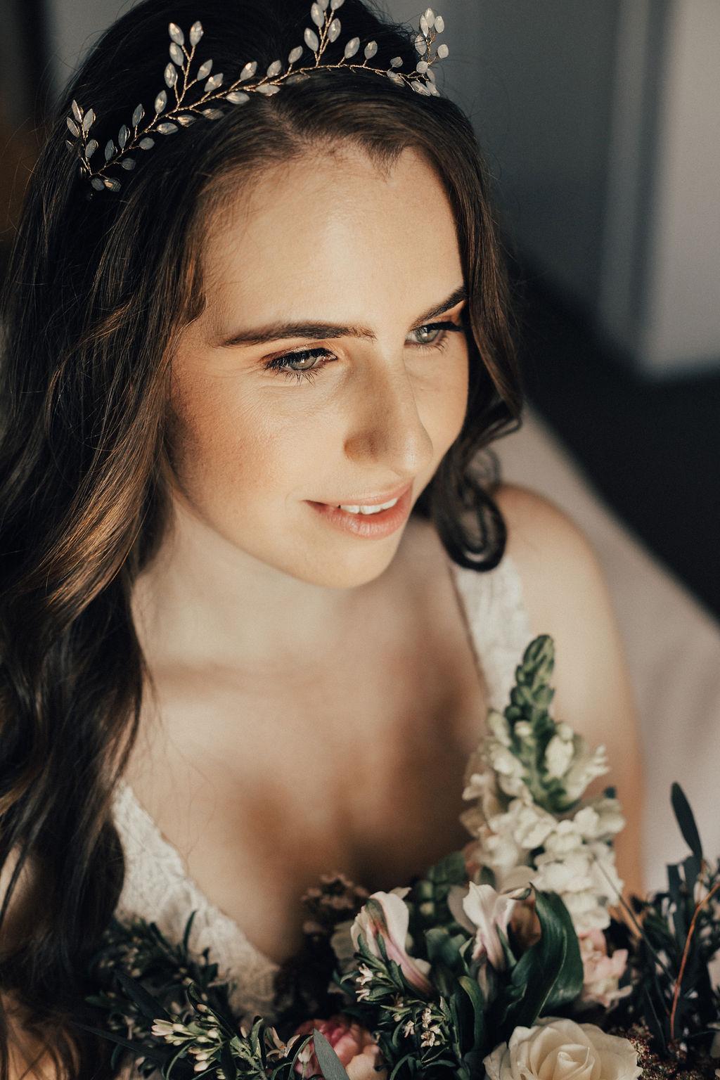 modern wedding makeup _ The Beauty Case