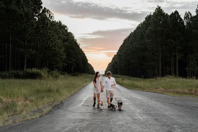 Covid 19 engagement shoot Sunshine Coast _ Emma Nayler Photographer