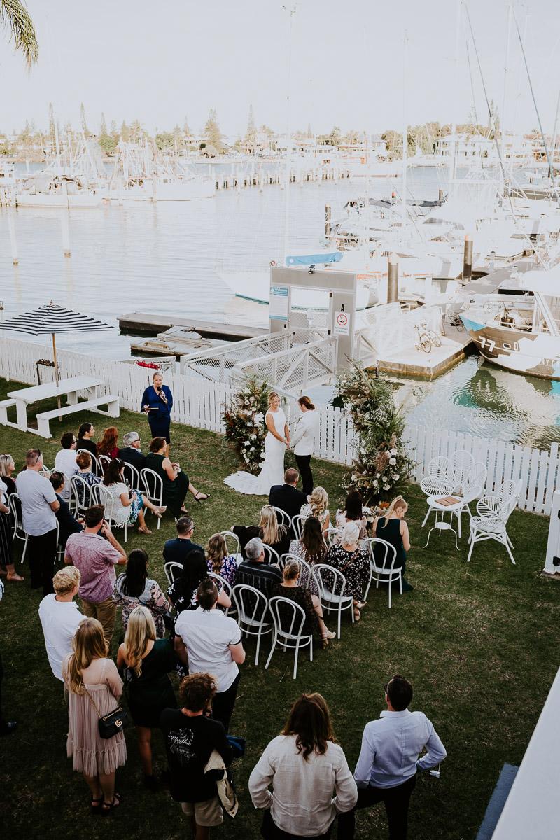 Mooloolaba Pier wedding _ Pier 33 wedding _ The Bride's Tree