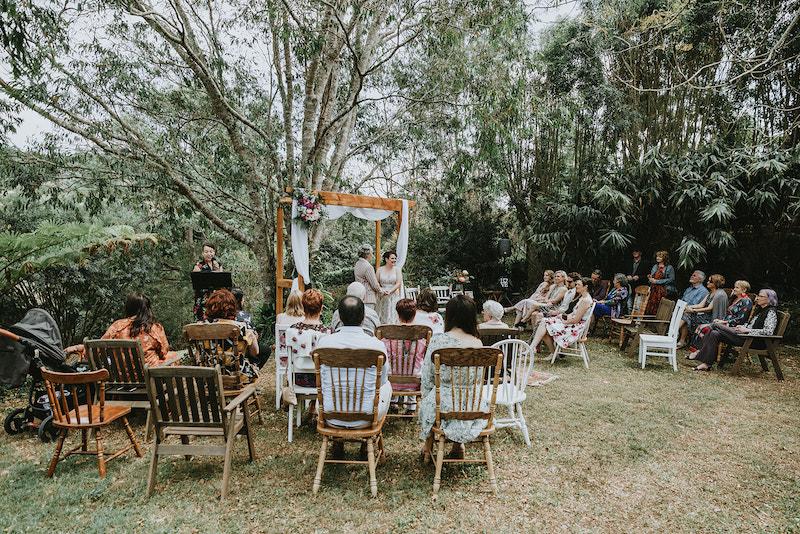 same sex wedding _ same sex marriage Maleny _ Maleny wedding _ The Bride's Tree _ marriage equality