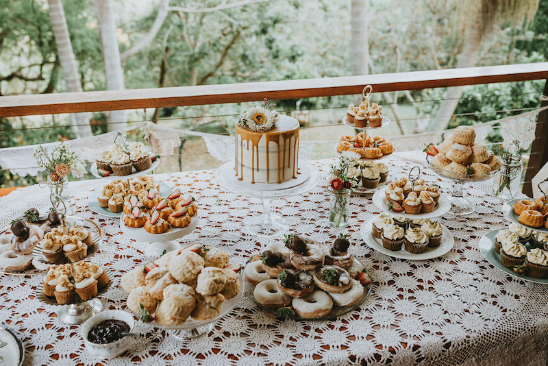 DIY tea party wedding Sunshine Coast