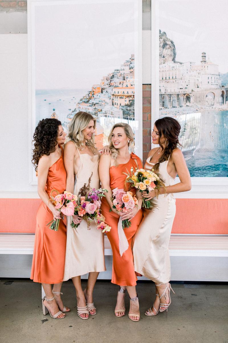 Bridesmaids fashion _ Brisbane bridal boutique _ wedding dresses brisbane _ Tuscan rooftop bar brisbane