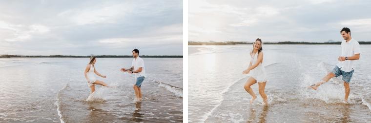 Sunshine Coast beach engagement shoot _ Mallory Sparkles