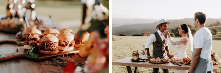 wedding catering maleny _ the old dairy _ the bride's tree