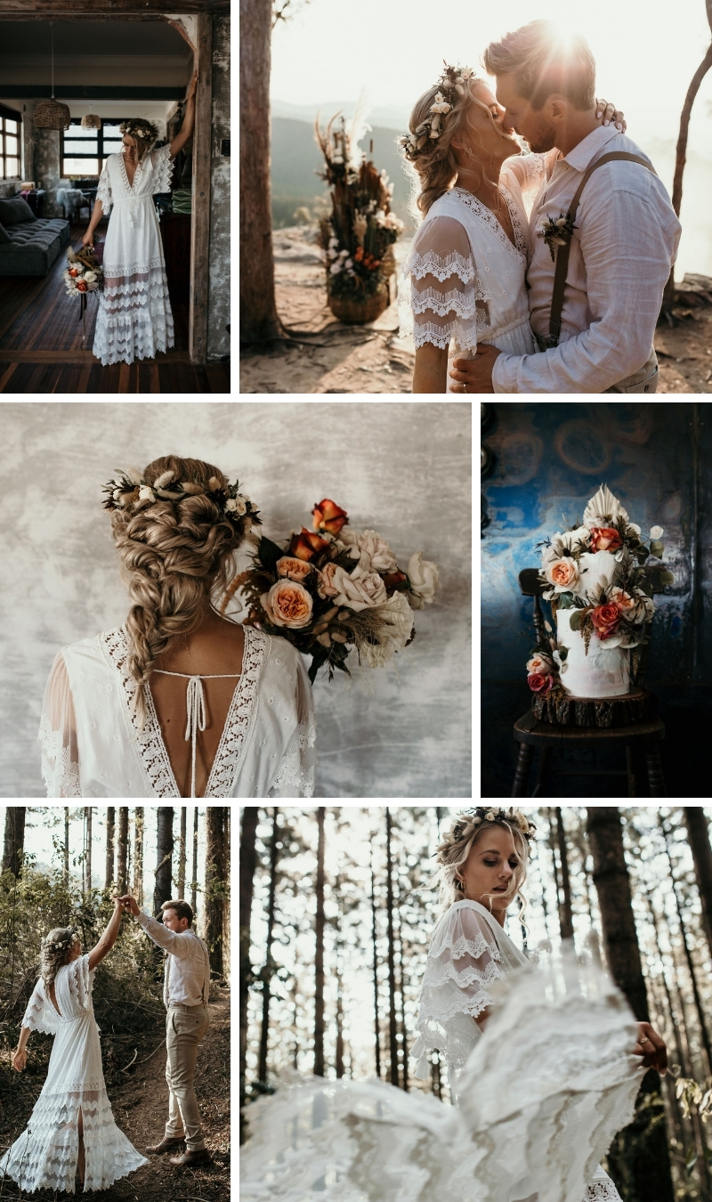 Boho Forest Wedding Sunshine Coast