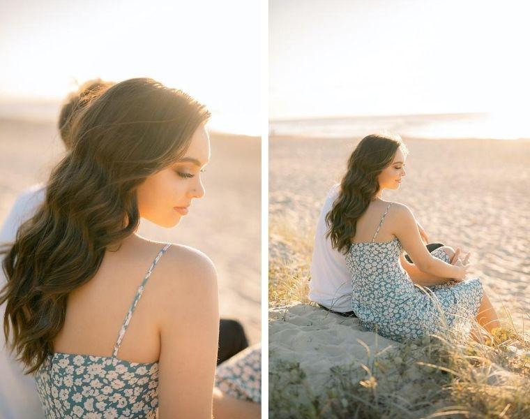 couples beach shoot sunshine coast