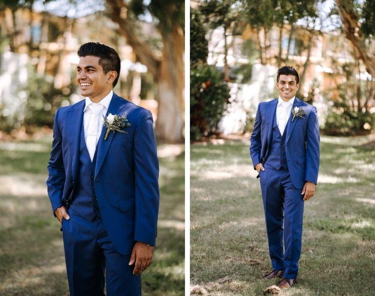 Wedding during a global pandemic _ Noosa wedding _ interracial couple wedding _ Sri Lankan wedding in Australia