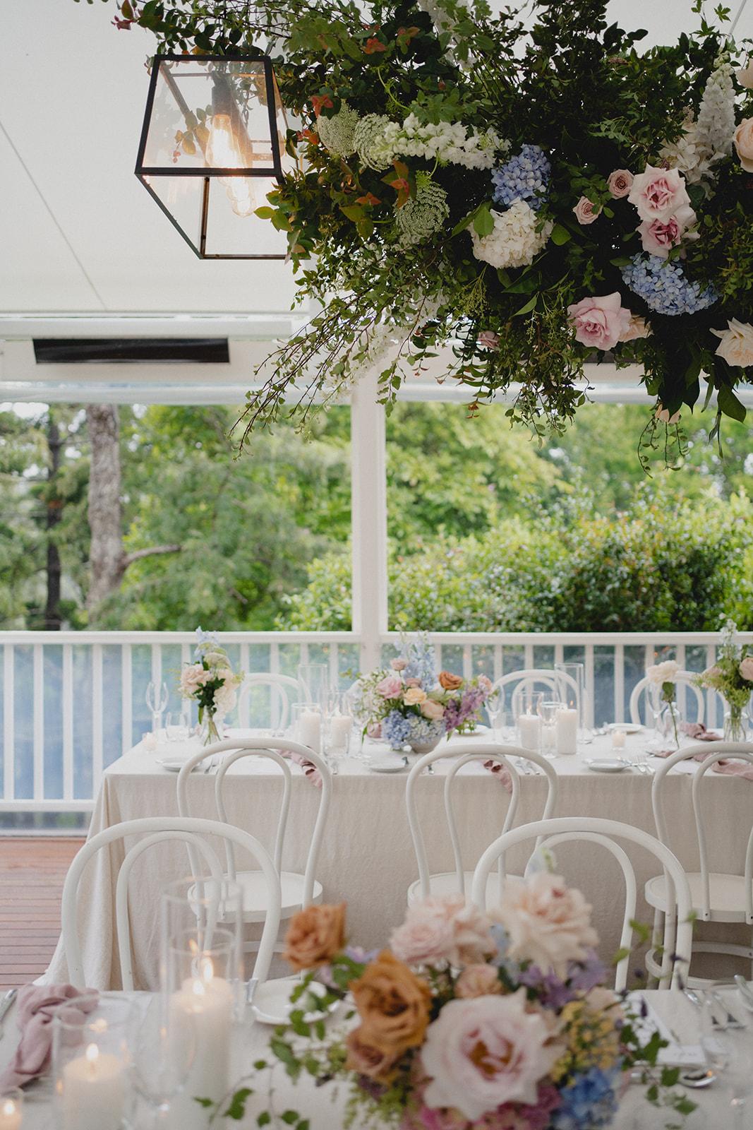 Wedding reception styling _ Luxury reception wedding venue Montville