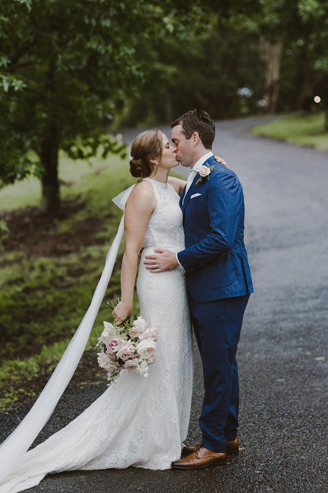 Rainy day wedding Sunshine Coast Hinterland