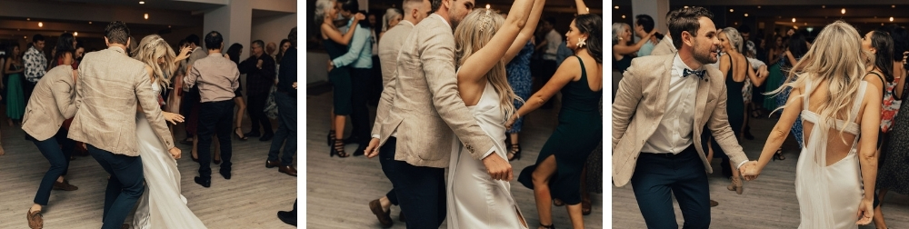 Bride and Groom dance floor _ Mooloolaba wedding reception venue