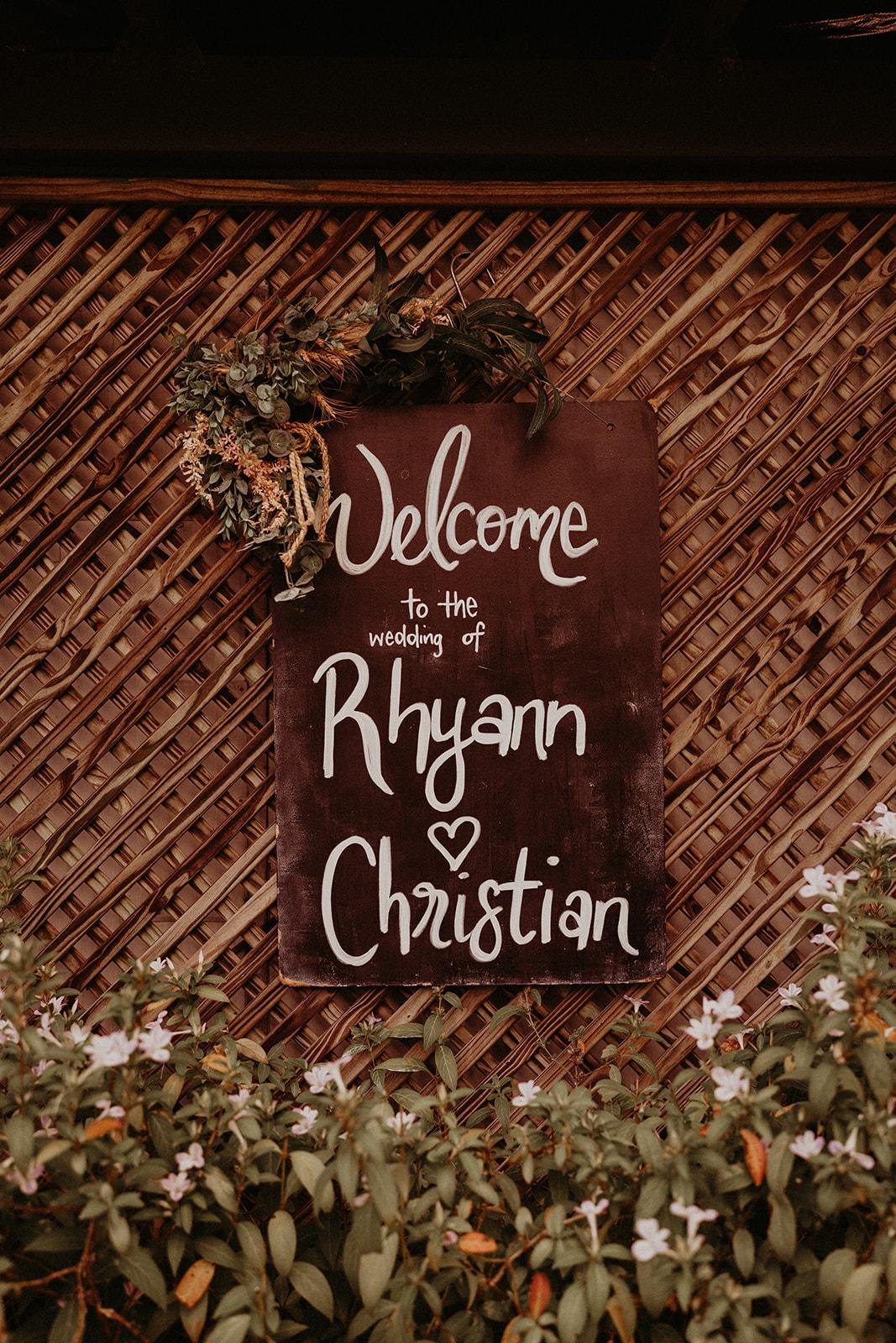 Rhyann & Christian