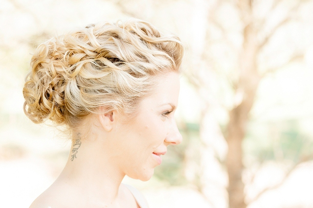Upstyles For Blonde Brides The Bride S Tree